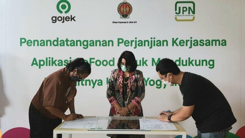 Gratis Ongkir Melalui Program Aksi Coba Kuliner (SiBakul), Kerjasama Gojek dan Pemerintah DIY