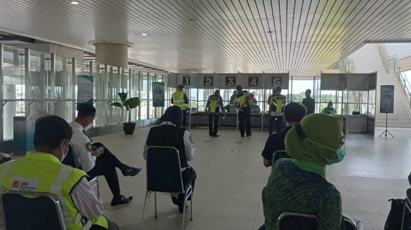 Simulasi Pelayanan GeNose C19 di Yogyakarta Internasional Airport