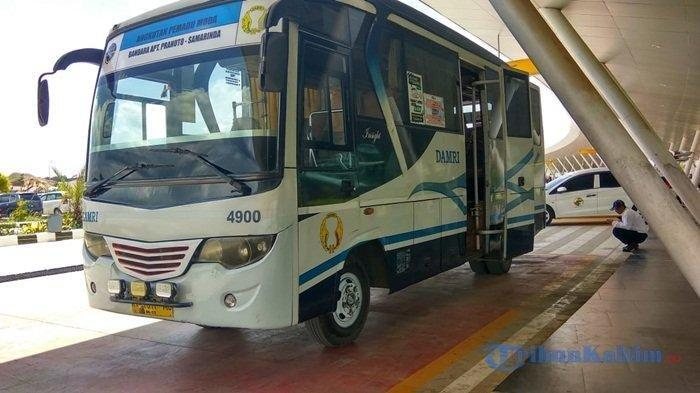 Rute, Jadwal dan Nomor Telpon Pemesanan Tiket Bus Damri dari dan Ke Bandara APT Pranoto