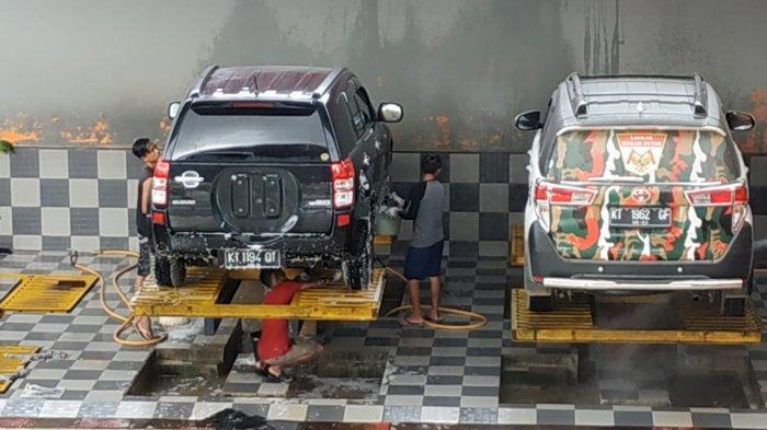 Jangan Sembarangan Cuci Mobil Pakai Hidrolik