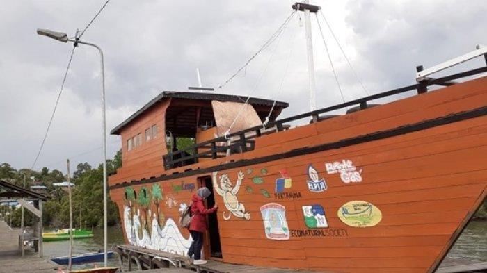 Kulineran Sambil Nikmati Hutan Kafe, Ada Nuansa Kapal di Kariangau Mangrove Ecotourism