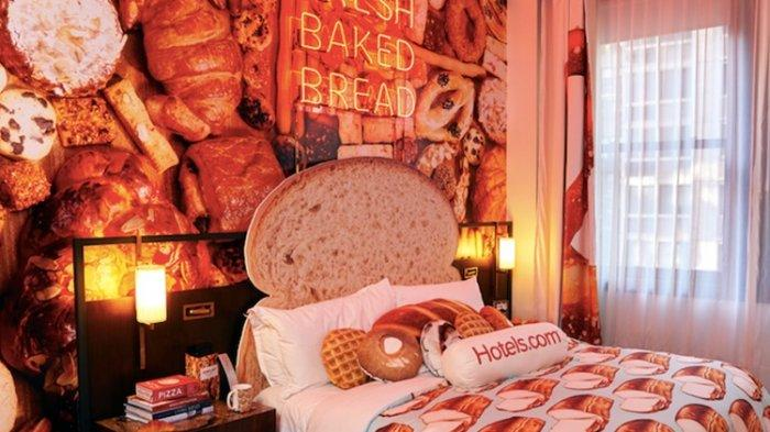 Unik, Ada Hotel Bertema Roti, Makanannya pun Serba Roti