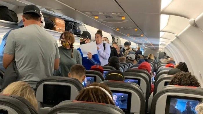 Virus Corona Menyebar di dalam Pesawat, Sulit Dihindari Penumpang