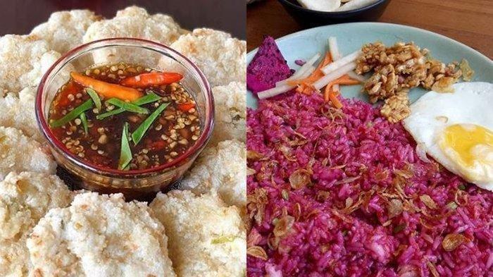 Kuliner-kuliner Unik Khas Indonesia, Ada Rujak Cireng hingga Nasi Goreng Buah Naga
