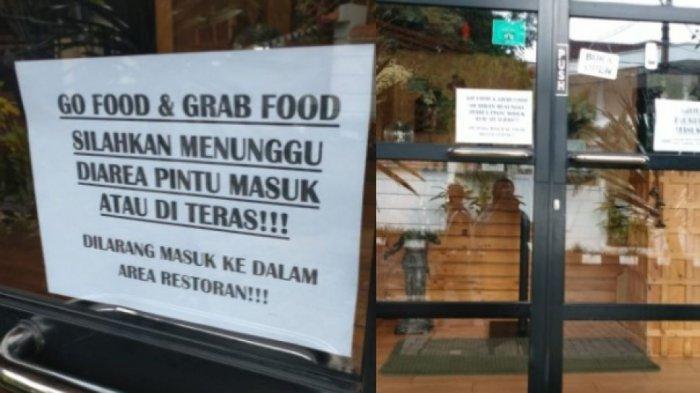 Di Jakarta, Restoran yang Tetap Buka Selama PSBB Didenda Rp10 Juta