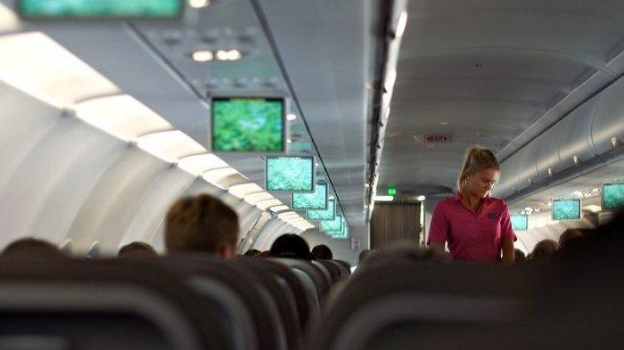 Penumpang Ini Berontak Menolak Turun dari Pesawat Meski Sudah Mendarat, Videonya Viral di Medsos