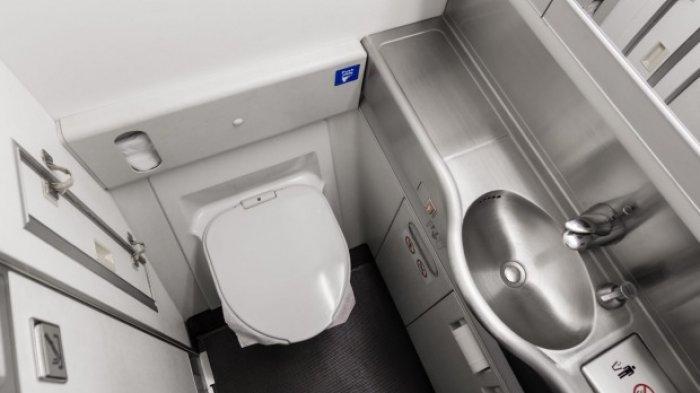 Digunakan 200 Penumpang Secara Bergantian Toilet Pesawat Jarang Dibersihkan