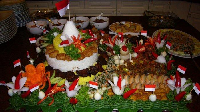Filosofi Nasi Tumpeng, Identik dengan Perayaan Hari Kemerdekaan Indonesia