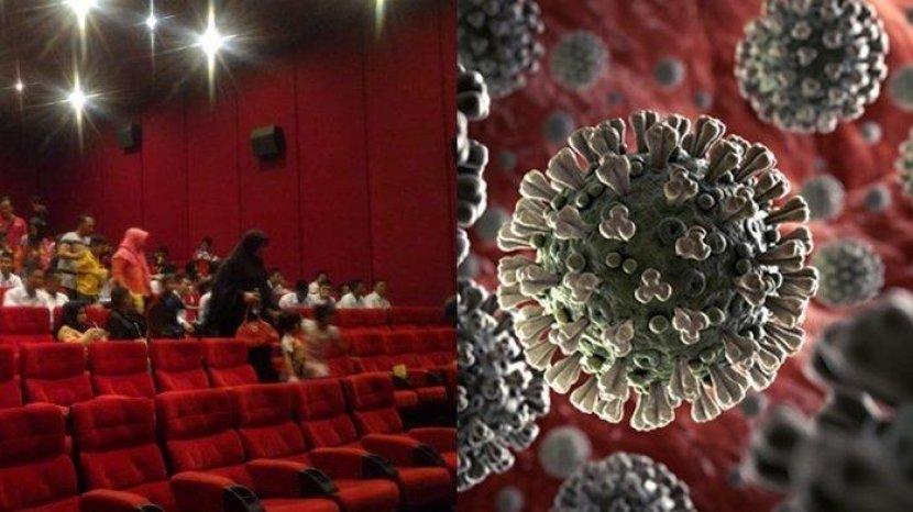 Waspada Bioskop Punya Risiko Tinggi Penyebaran Covid-19, Virus Corona Bisa Menyebar Lewat Udara