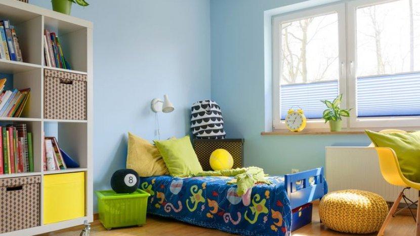 10 Ide Kamar Tidur di Ruang Terbatas untuk Anak Laki-laki