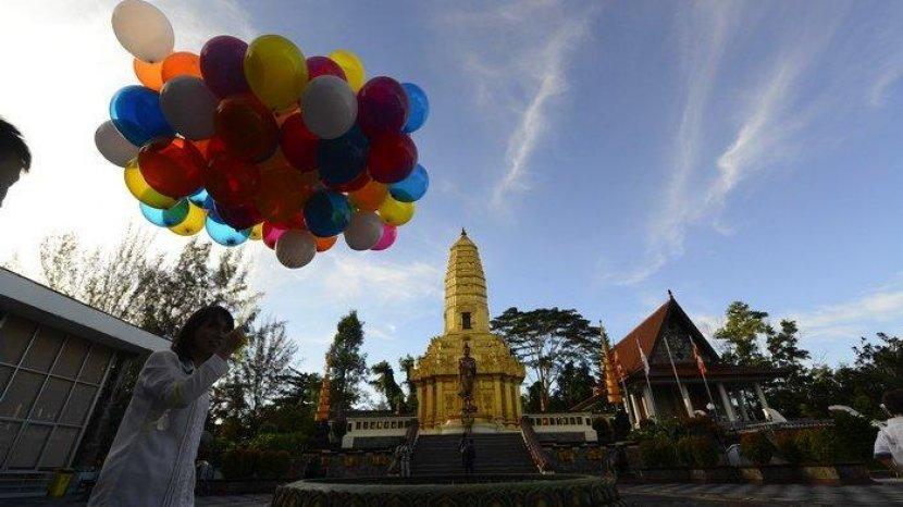 Vihara Buddhamanggala di Balikpapan, Mirip Objek Wisata Thailand