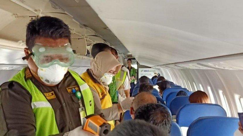 Kasus Penumpang Positif Covid-19 Terulang Lagi, Seberapa Aman Naik Pesawat Saat Pandemi?
