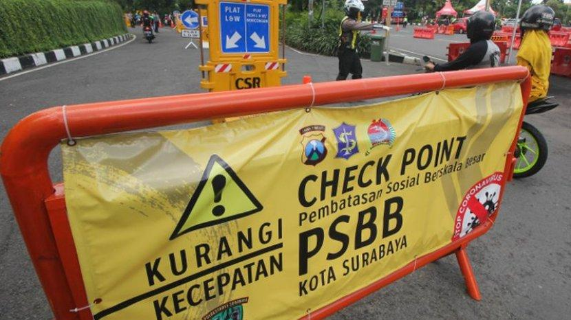 Indonesia Disebut Media Asing Sedang Lockdown