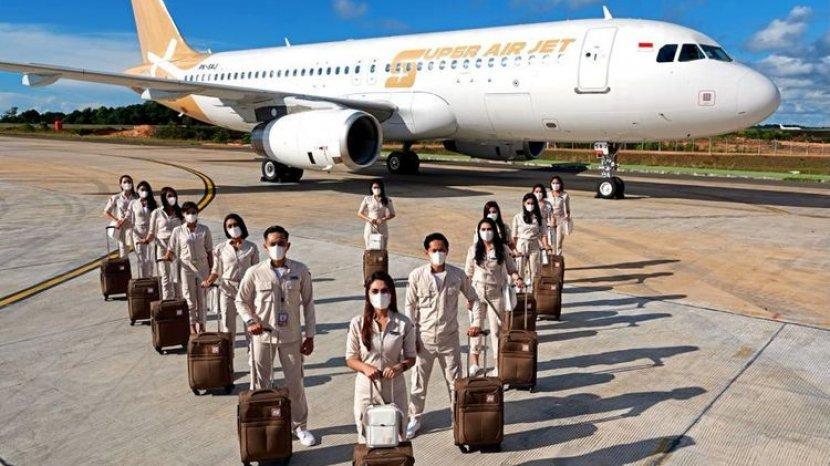 Maskapai Baru Super Air Jet Siap Mengudara, Ini Penampakannya