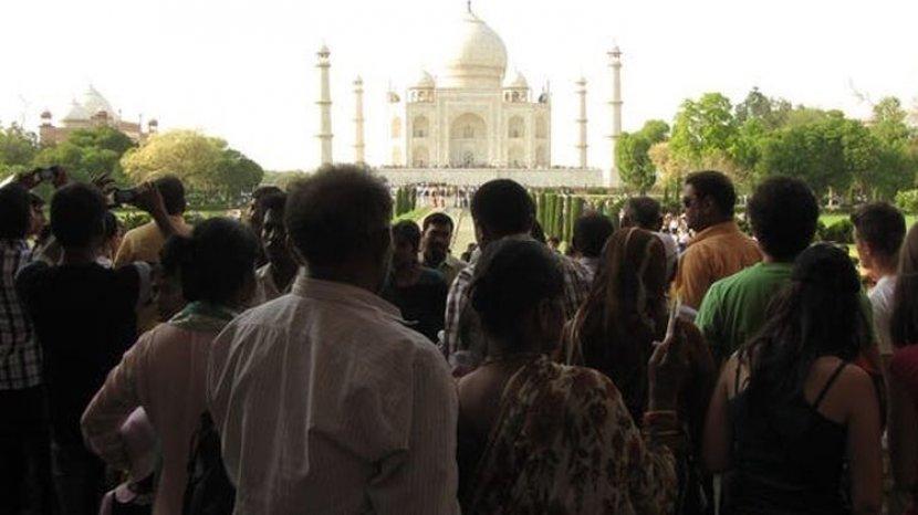 Tempat Terkenal Ternyata Jauh dari Ekspektasi, Ongkos Masuk Taj Mahal Ternyata Mahaaal