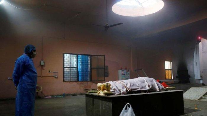 Di India, Orang-orang Sekarat dan Situasinya Tak Terkendali