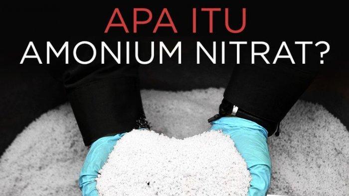 Bagaimana Amonium Nitrat Memicu Ledakan di Lebanon? Berikut Penjelasannya