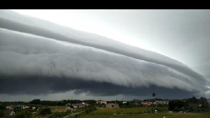 Fenomena Awan Tsunami di Langit Aceh, Berikut Penjelasan BMKG