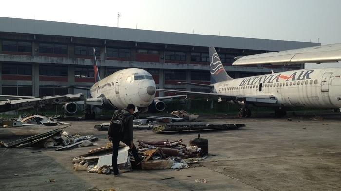Mengintip Kuburan Pesawat di Bandara Soekarno-Hatta