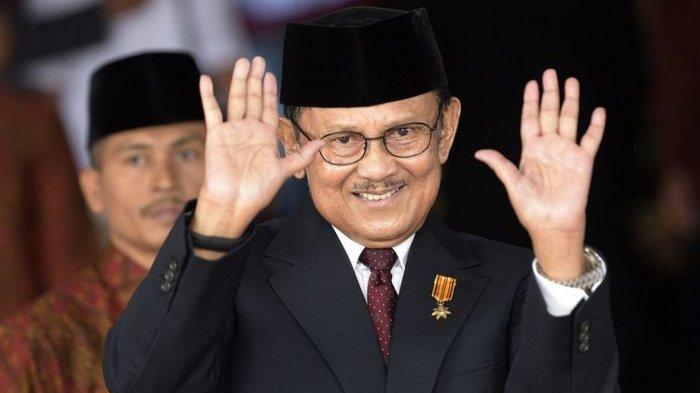 Profil Presiden Ketiga RI: Bacharuddin Jusuf Habibie, Jenius dari Indonesia