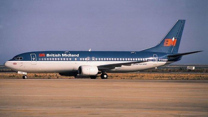 Sejarah Terulang, 8 Januari 1989: Pesawat Boeing 737-400 Jatuh di Inggris, 47 Tewas, 74 Luka
