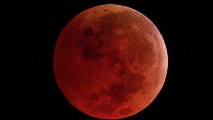 Muncul Malam Ini, Apa Itu Super Blood Moon?