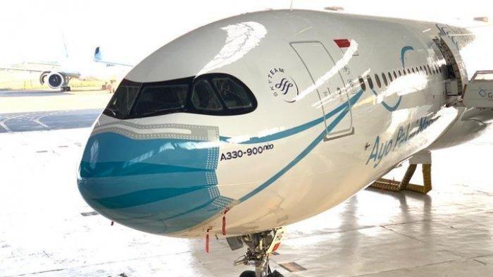 Maskapai Garuda Indonesia Angkut 10 Juta Dosis Bahan Baku Vaksin