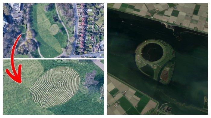 Tempat-tempat Misterius di Dunia yang Ditemukan Lewat Google Maps