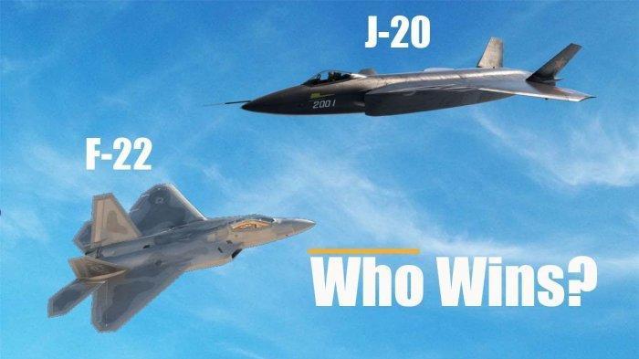 Mampukah Jet Siluman J-20 Buatan China Mengalahkan Siluman F-22 Raptor?