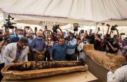 Arkeolog Temukan 59 Mumi Utuh di Mesir, Dikubur Lebih dari 2.500 Tahun Lalu