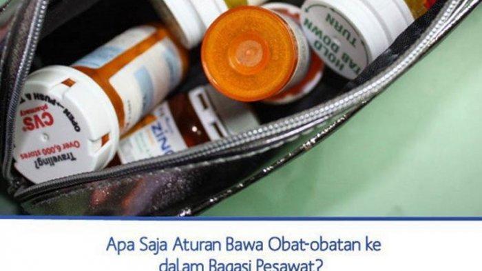 Aturan Membawa Obat-obatan ke Pesawat yang Wajib Diketahui Penumpang