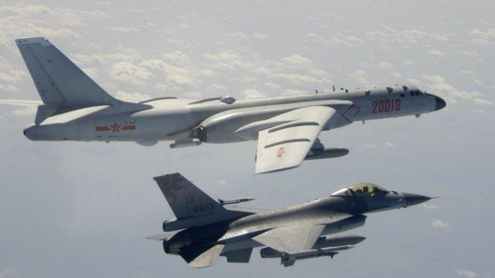 Malaysia Kerahkan Jet Tempur, Cegat 16 Pesawat Militer China