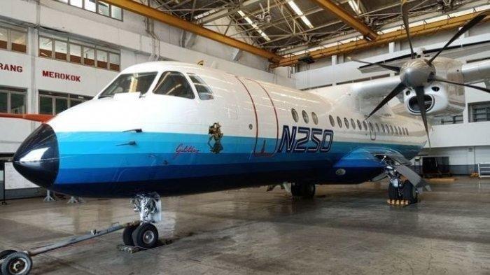 Pesawat Pertama Buatan RI, N250 Gatotkaca Dimuseumkan, Apa Alasannya?