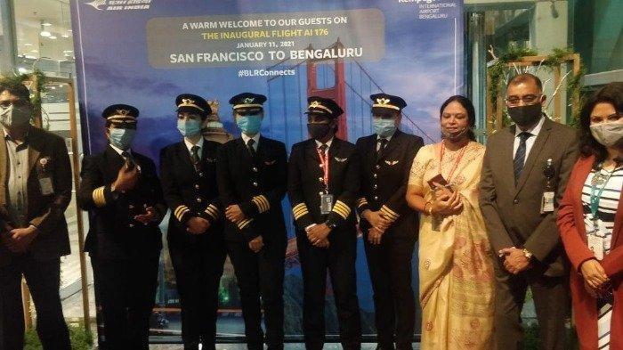 Para Pilot Wanita Ini Berhasil Selesaikan Penerbangan Komersial Terpanjang di India