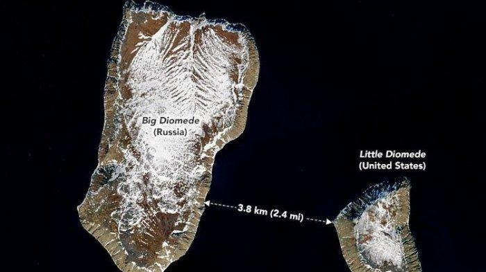 2 Pulau Ini Hanya Terpisah 3,8 Kilometer, tetapi Memiliki Perbedaan Waktu 21 Jam