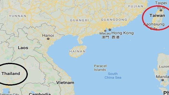 Dekat Secara Geografis, Taiwan & Thailand Juga Punya Nama yang Mirip