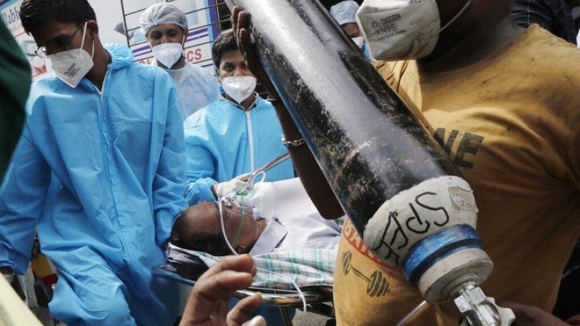 Dinkes Tangerang Stok Tabung Oksigen untuk Pasien Covid-19