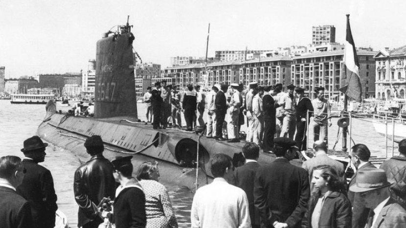 Hilang Selama 51 Tahun, Kapal Selam Perancis Ditemukan di Laut Mediterania