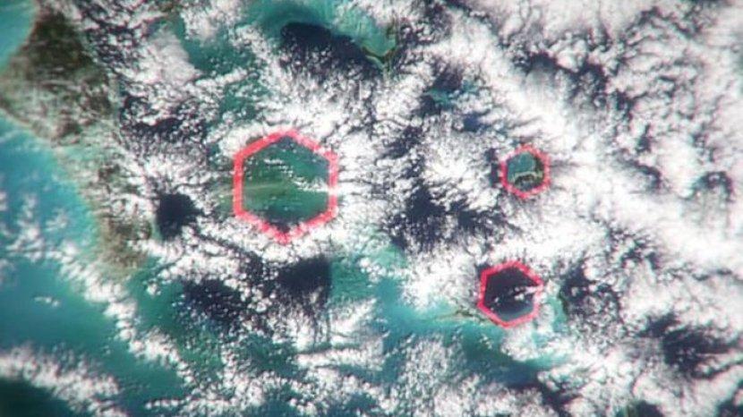 Citra Satelit NASA Ungkap Misteri yang Terjadi di Segitiga Bermuda