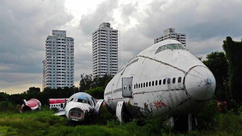 Begini Nasib Bangkai Pesawat yang Sudah Tidak Terpakai Lagi