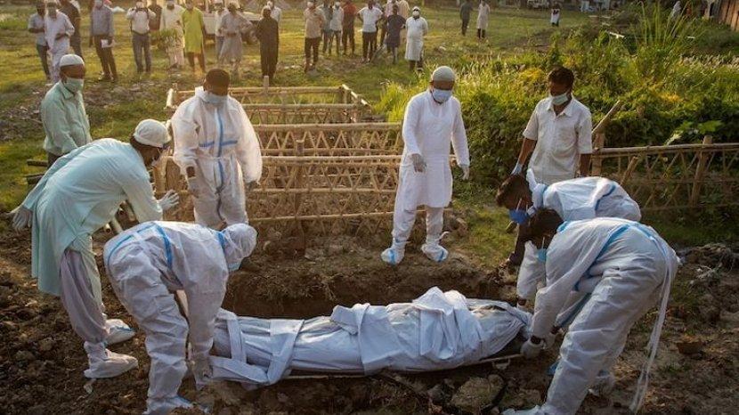 Angka Kematian Akibat Covid-19 Indonesia Tertinggi Dunia, Skenario Terburuk