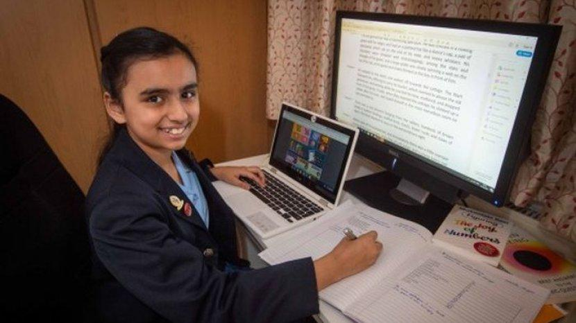 Masih SD, Gadis Ini Punya IQ Lebih Tinggi Daripada Einsten dan Stephen Hawking!