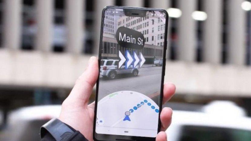 Google Maps Tertipu oleh 99 Ponsel di Gerobak