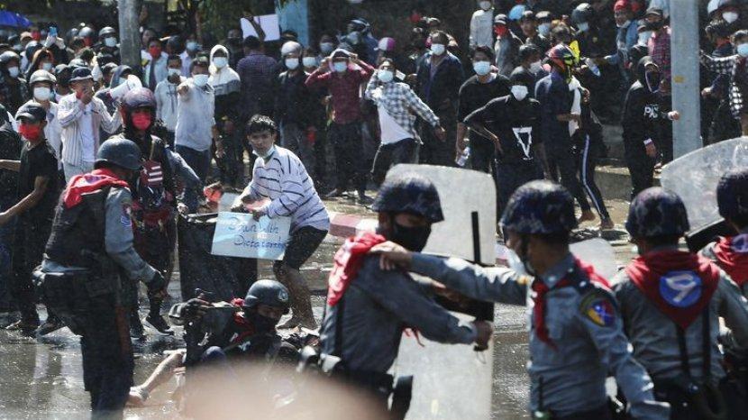 Protes Kudeta Militer di Myanmar Semakin Meluas, Mirip Peristiwa 1998 di Indonesia