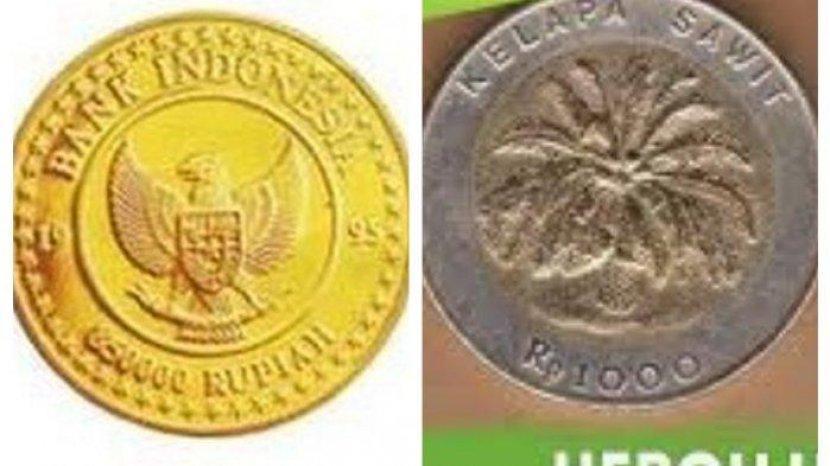 Uang Koin Termahal di Indonesia Terbuat dari Emas, Berapa Nilainya Sekarang?