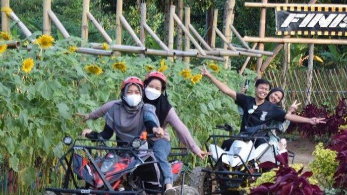 Serunya Bermain ATV di Wisata Umbul Helau