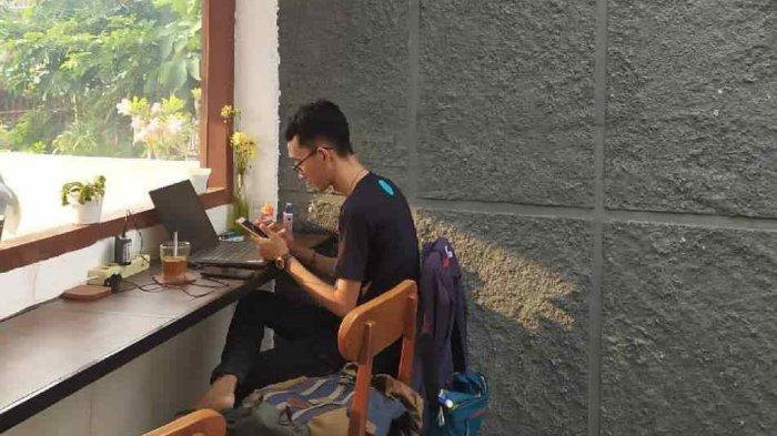 Kafe Titik Balik Jadi Tempat Produktif di Bandar Lampung