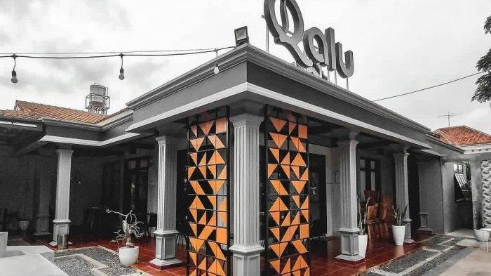 Kedai Qalu Coffee Bandar Lampung Hadirkan Suasana Semi Industrial