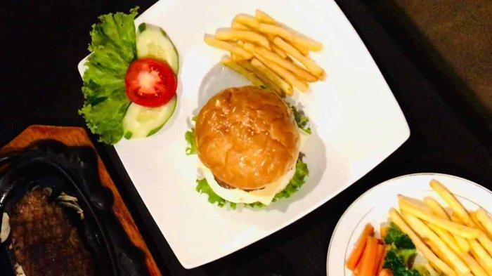 Menu Baru Eze Steak and Resto, Tenderloin Burger