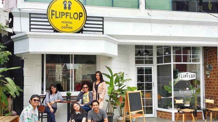 Kamar Berkonsep Dormitory di Flip Flop Hostel Bandar Lampung Cuma Rp 98 Ribuan